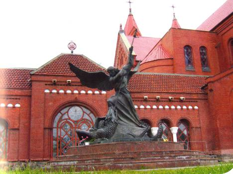 Minsk tourist attractions: Archangel Michael