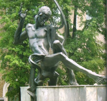 Minsk tourist attractions: Orpheus