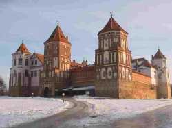 Belarus Mir Castle Winter